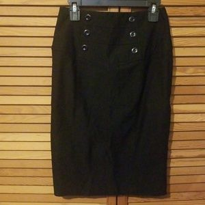 BCX black pencil skirt